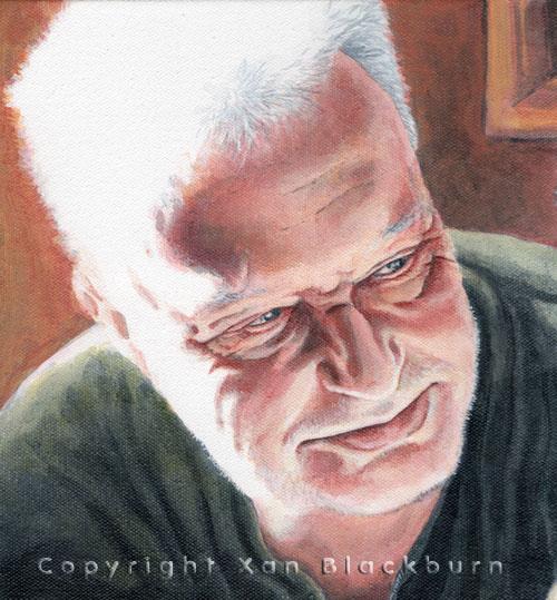 Dad human portrait