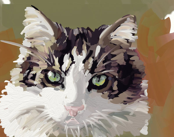 Puff - sketch in Artrage
